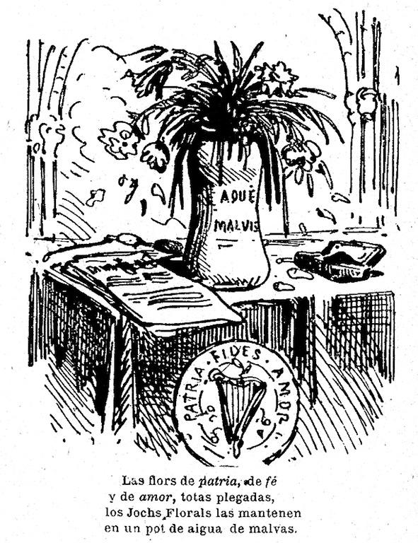 Lo Xanguet. Almanach enllustrat pera l'any 1872, I. Lopez, editor, Barcelona, s. d. [1871]