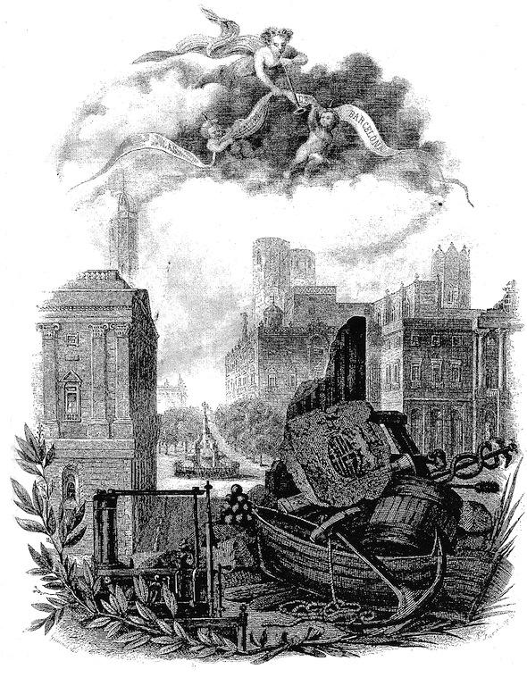 Víctor Balaguer, Las calles de Barcelona, 1865