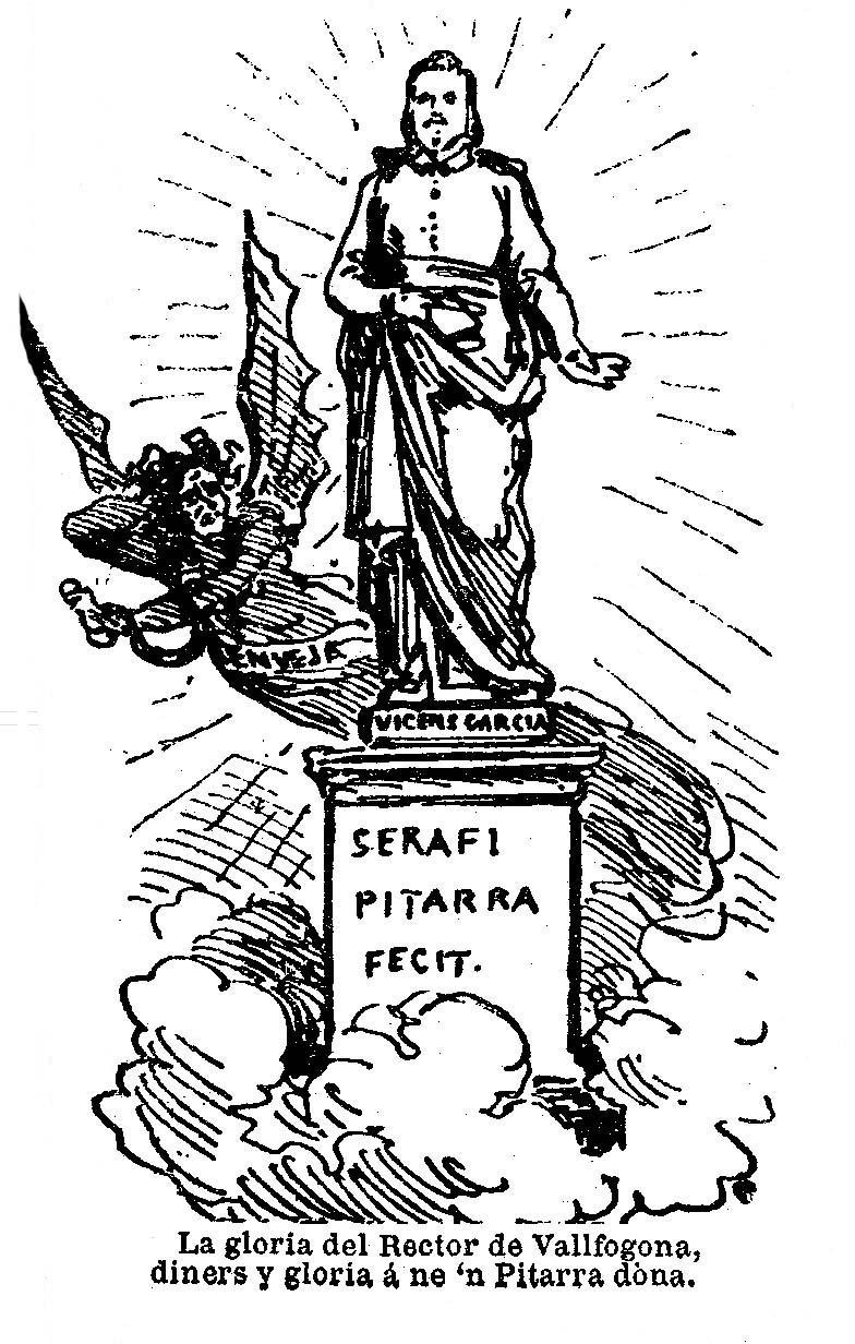 Serafí Pitarra, sota l'ascendent del Rector de Vallfogona