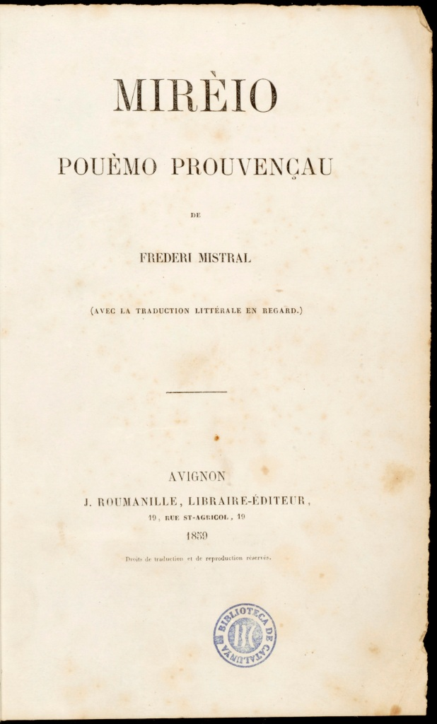 0068 Mirèio 1859